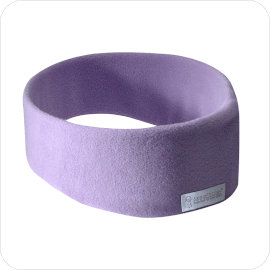 SleepPhones Wireless Sleep Headphones in Quiet Lavender Fleece