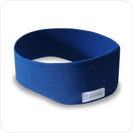 SleepPhones ASMR Edition Sleep Headphones in Royal Blue Breeze Fabric