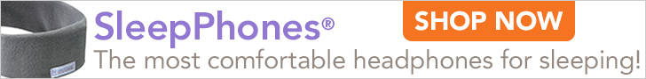 Banner Ad for SleepPhones