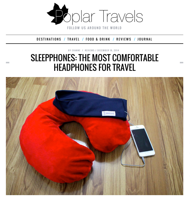 SleepPhones The Most Comfortable Headphones for Travel
