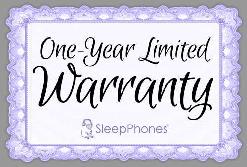 SleepPhones® Warranty